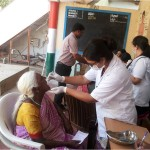 5People availing the health checkup