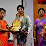 HOD madam felicitation