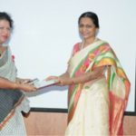 Felicitation of DAPCU officer