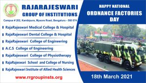 18TH MARCH Ordnance Factories Day 1
