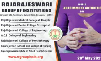 World Autoimmune Arthritis Day RRGI