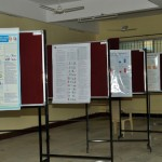 Posters competing in the poster competition