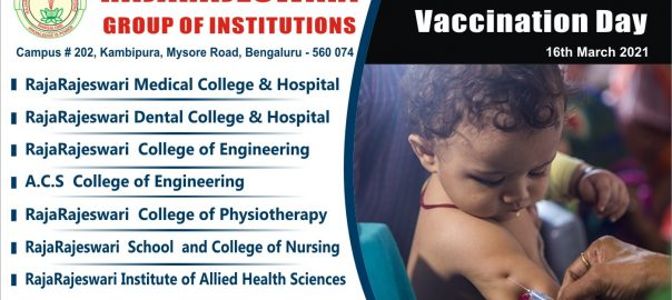 16th march National Vaccination Day rrgi